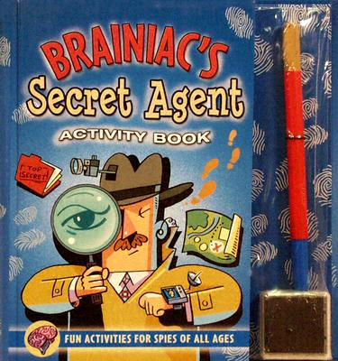 Brainiac's Secret Agent Activity Book By Prian, Sarah Jane/ Klug, David (ILT)